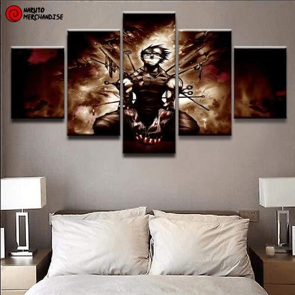 Naruto Wall Art Zabuza's Death
