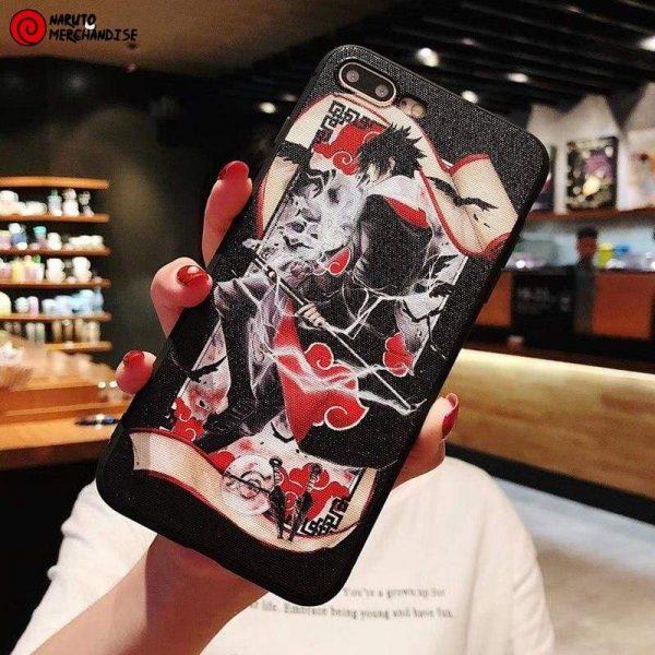 Naruto Iphone Case <br>Sasuke Akatsuki