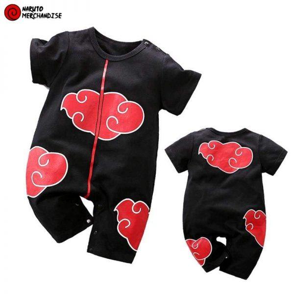 Naruto Baby Clothes <br>Itachi Akatsuki Onesie