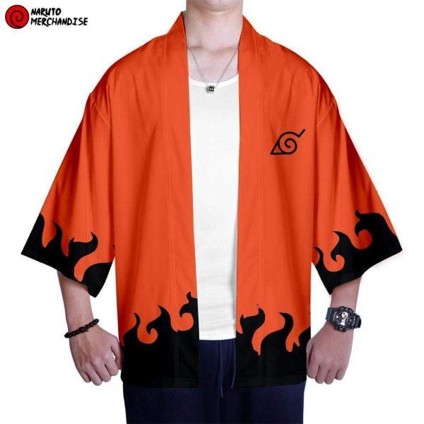 Naruto Kimono <br>Naruto Kyubi Chakra Mode (Hokage)
