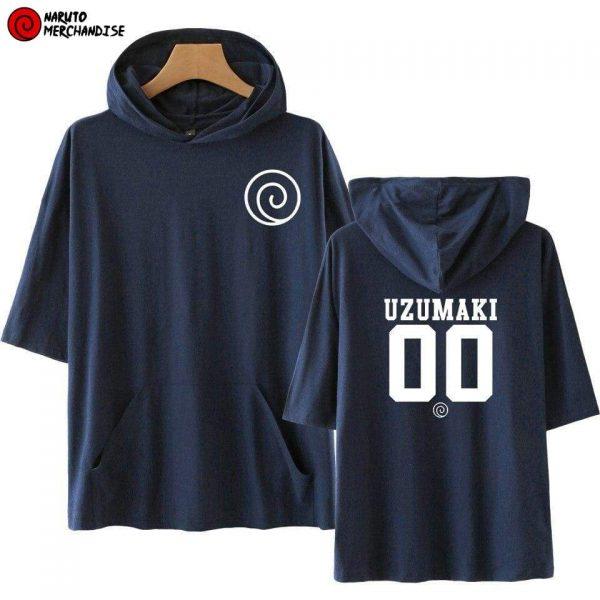 Naruto Short Sleeve Hoodie <br>Uzumaki Team