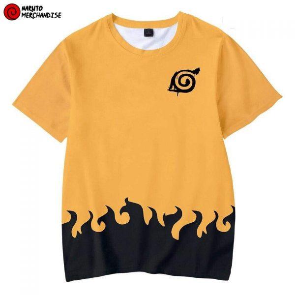 Naruto T-Shirt <br>Naruto Uzumaki (Orange)