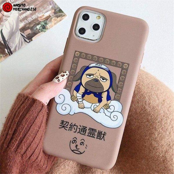 Naruto Iphone Case <br>Pakkun Dog