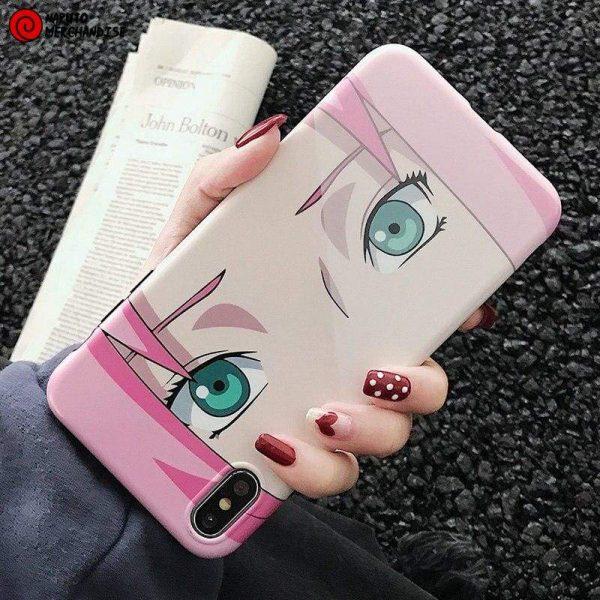 Naruto Iphone Case <br>Sakura's Eyes