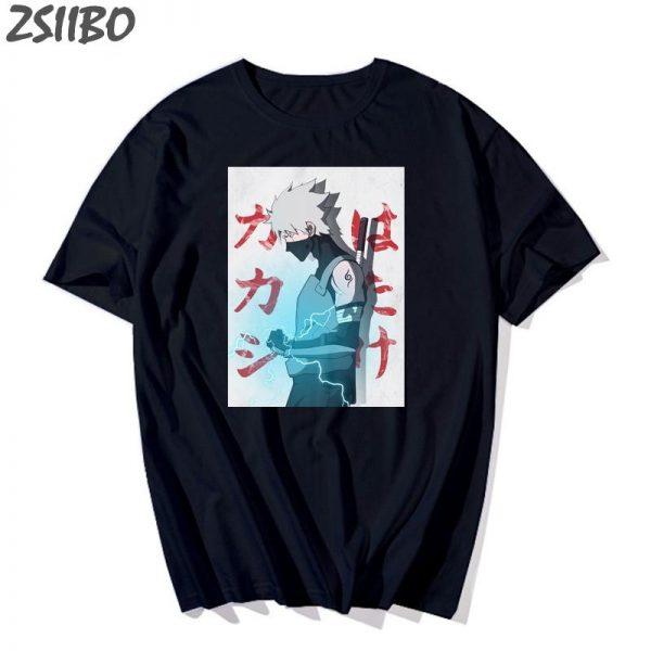 Naruto Shirt Streetwear <br> Kakashi Raikiri