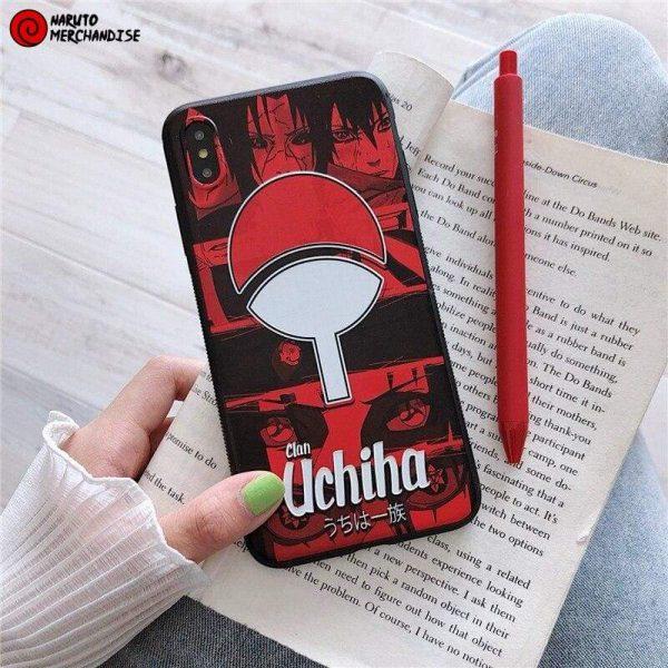 Naruto Iphone Case <br>Uchiha Clan