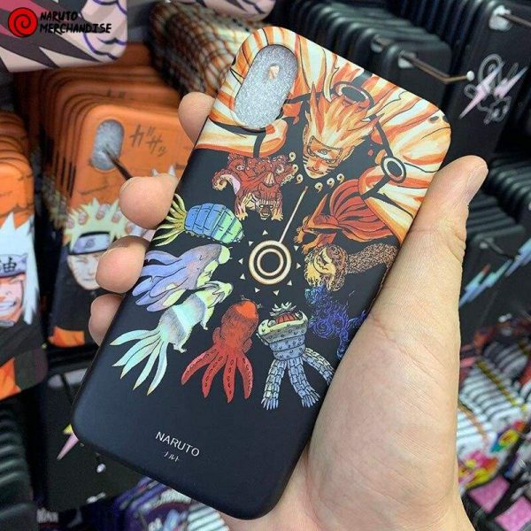 Naruto Iphone Case <br>Naruto x Tailed Beasts