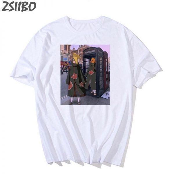 Naruto Shirt Streetwear <br> Deidara X Tobi