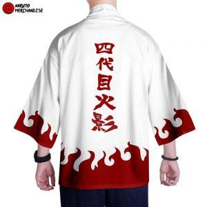 Naruto Kimono <br>Minato Namikaze (Hokage Cloak)