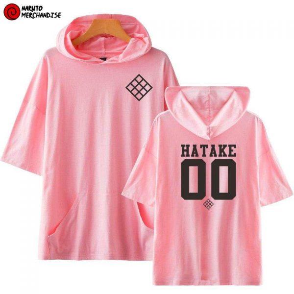 Naruto Short Sleeve Hoodie <br>Hatake Team