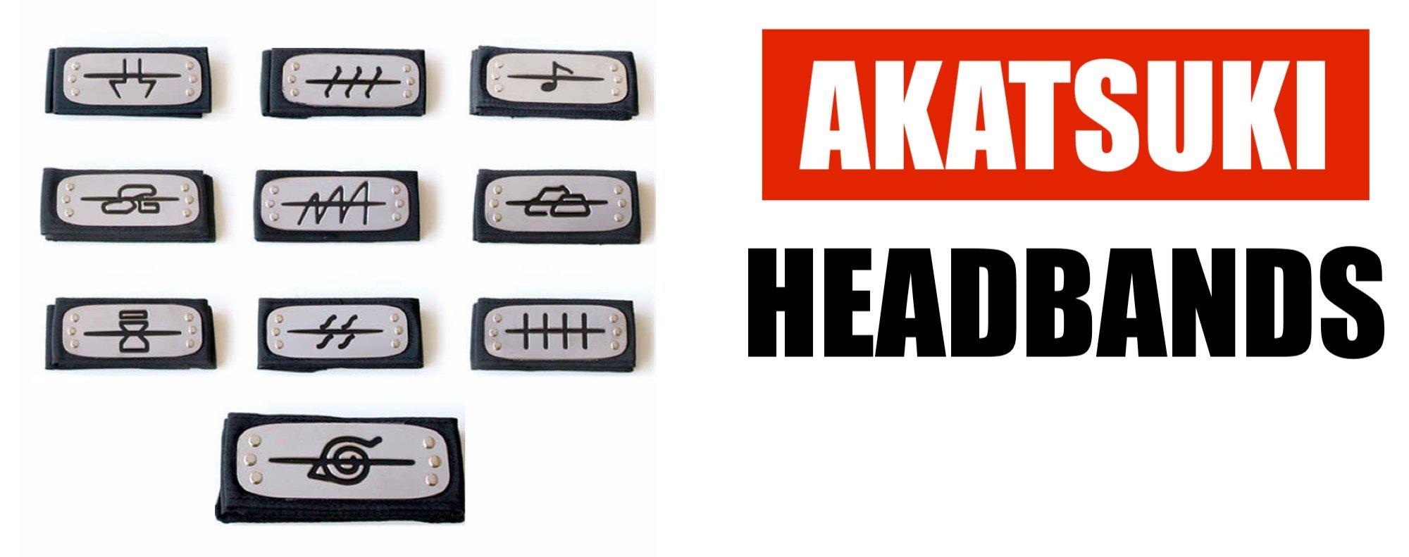 Akatsuki Headband Symbols
