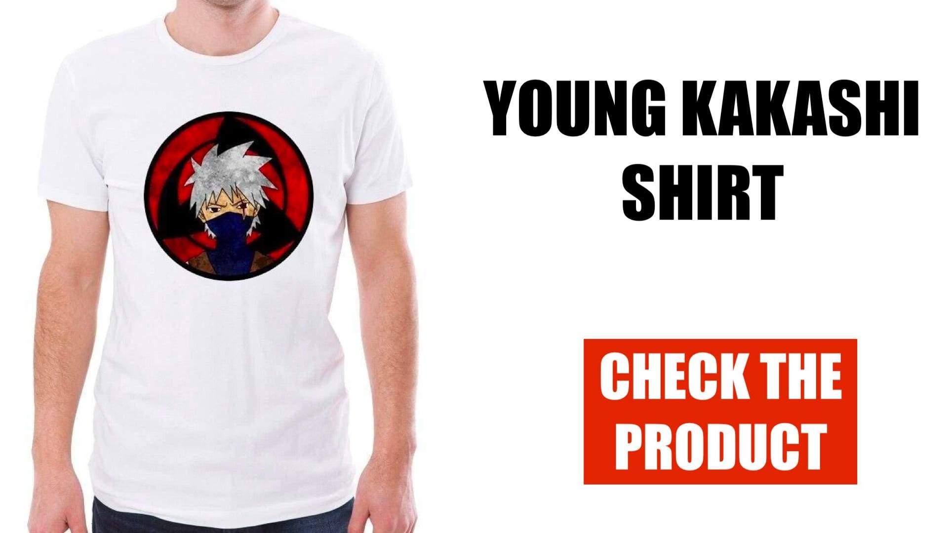 young kakashi shirt