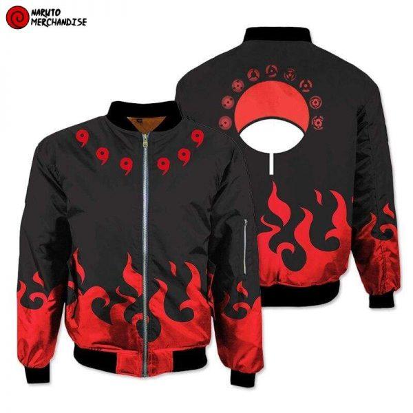 Naruto Bomber Jacket <br>Uchiha Symbol