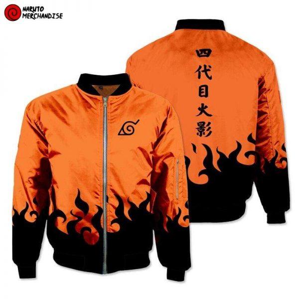 Naruto Bomber Jacket <br>Naruto Hokage Design