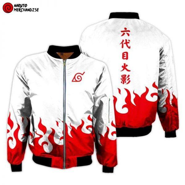 Naruto Bomber Jacket <br>Minato Namikaze (Youndaime Hokage)