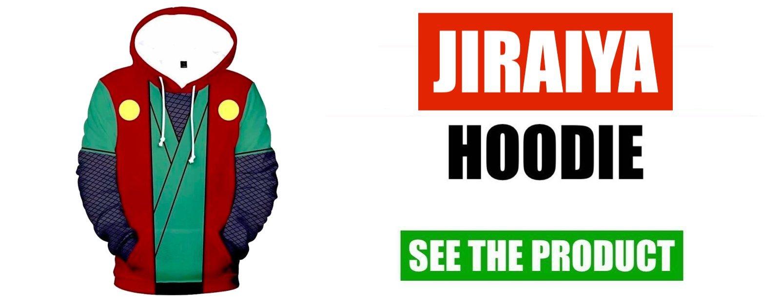 jiraiya hoodie