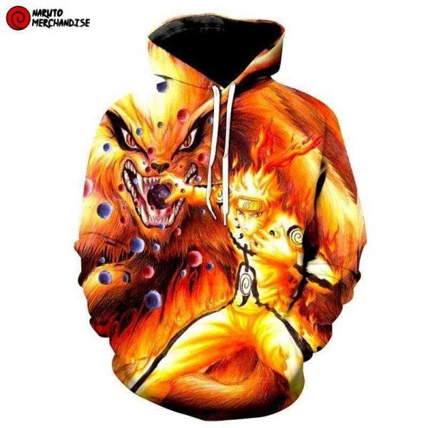 Kurama mode hoodie