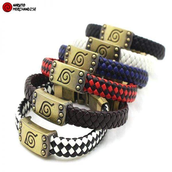 Naruto Bracelet Konoha Symbol - Naruto Bracelet
