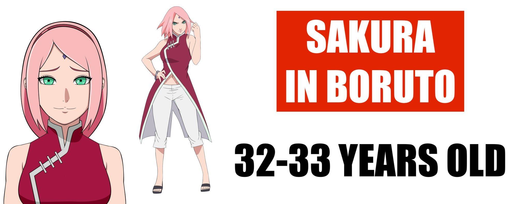 HOW OLD IS SAKURA IN BORUTO