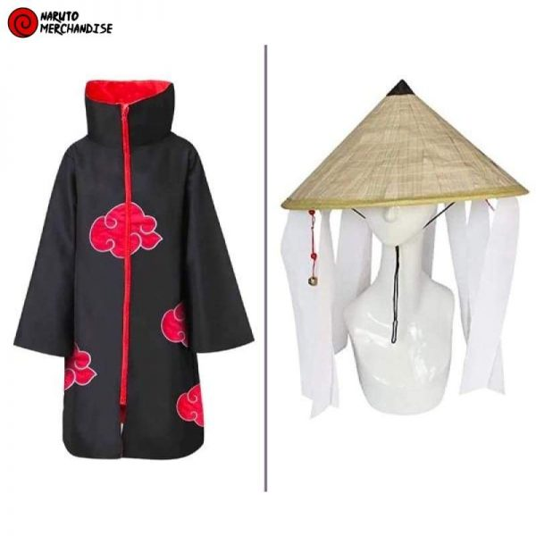 Akatsuki Cloak and Hat