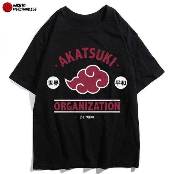 Akatsuki Shinobi Organization Shirt