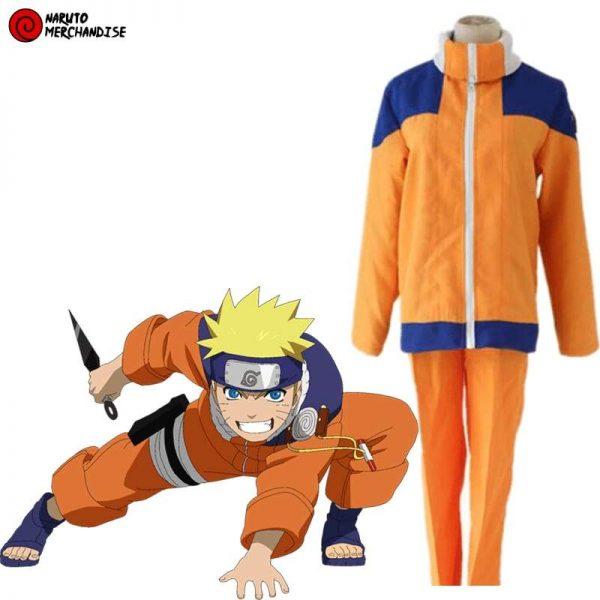 Cosplay Naruto Uzumaki (Adult)