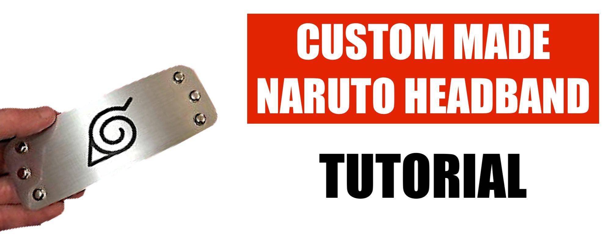 How to make a Naruto headband