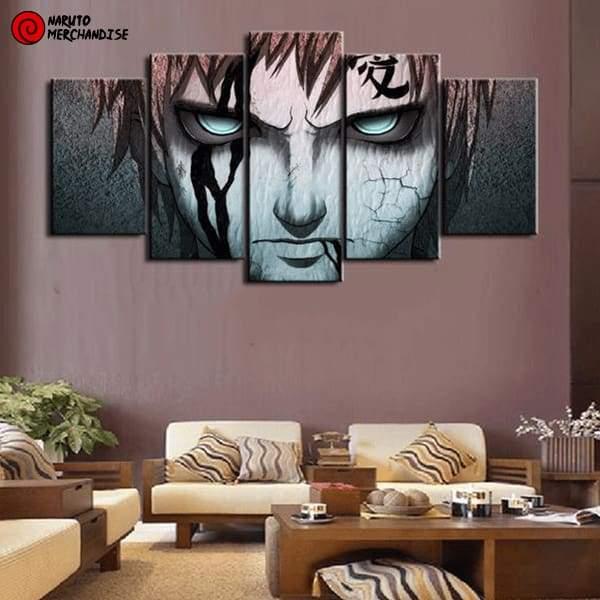 Naruto Wall Art Sand Armor