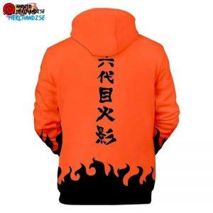Naruto Hoodie <br>Fourth Hokage (Orange)