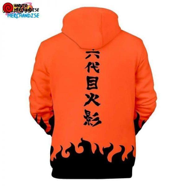 Naruto Hoodie Fourth Hokage (Orange) - Naruto Hoodie