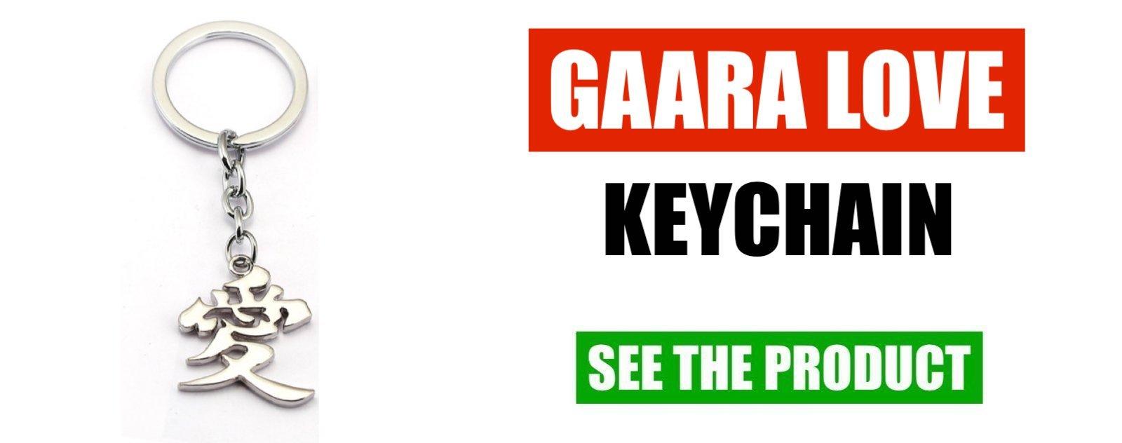 gaara keychain