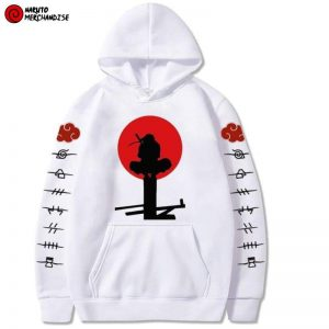 Itachi on Light Pole Hoodie
