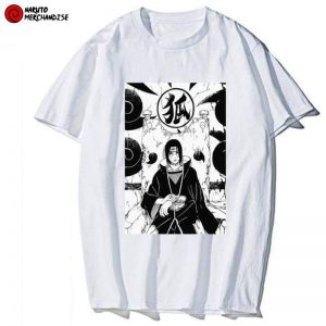 Itachi on Throne Tee Shirt