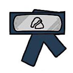 Hidden Rocks Village symbol headband