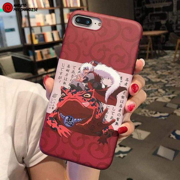 Jiraiya on Toad Phone Case