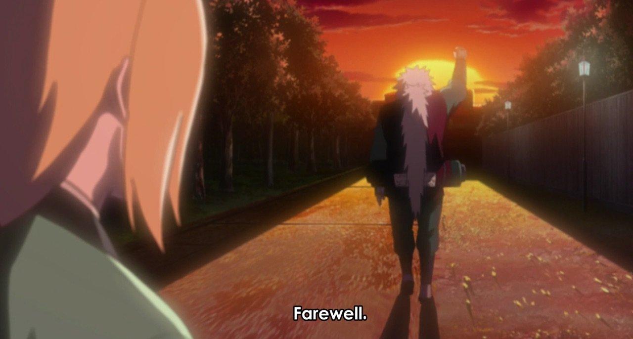 jiraiya's last words to tsunade