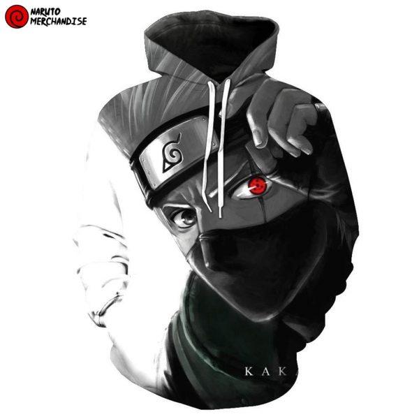 Kakashi 3d hoodie