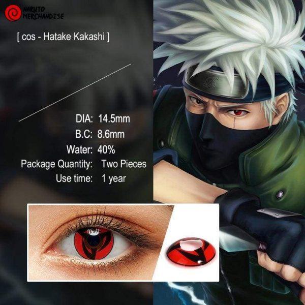 Kakashi Sharingan Contacts