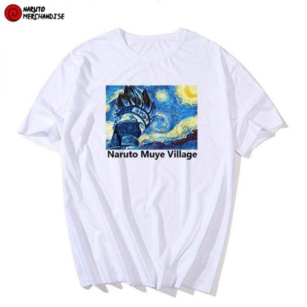Kakashi van gogh shirt