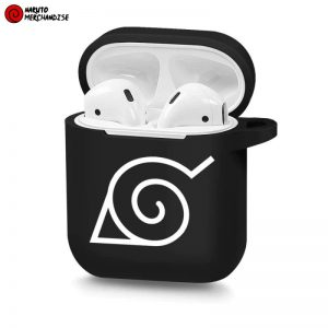 Konoha Leaf Symbol Airpod Case