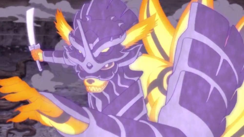 kurama susanoo armor mode