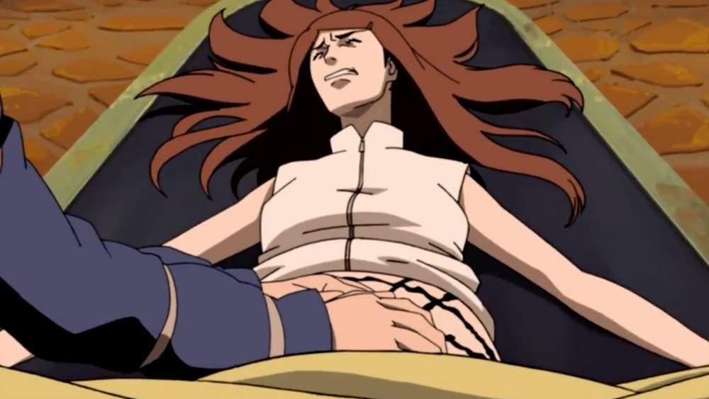Kushina gives birth to Naruto