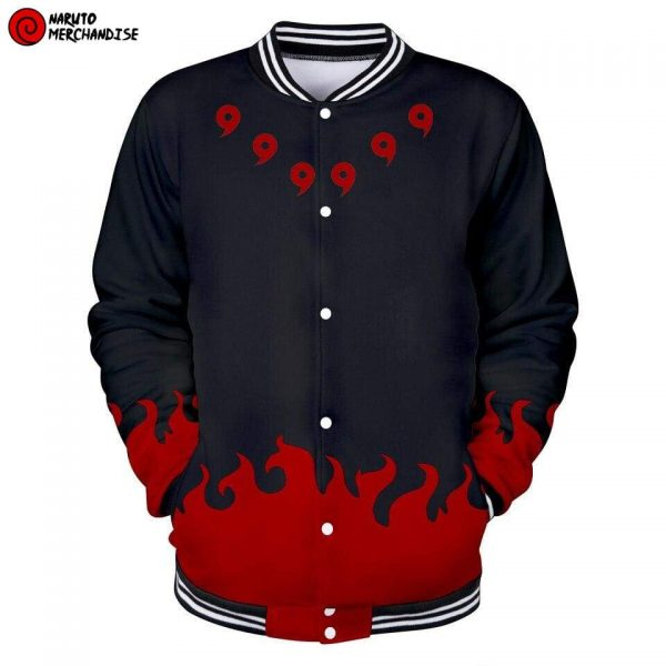 Madara uchiha baseball jacket