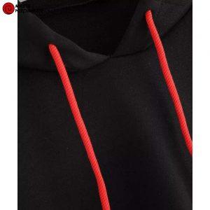 Mangekyou crop top hoodie