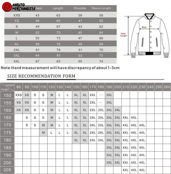 Minato kurama mode baseball jacket