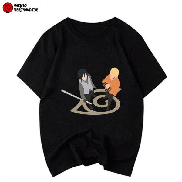 Naruto and Sasuke vs Momoshiki Shirt