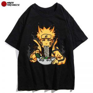 Naruto Eating Ramen Shirt