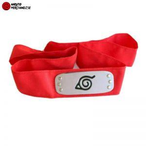 Naruto Headband Red