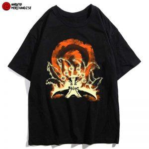 Naruto Kyuubi Mode Shirt
