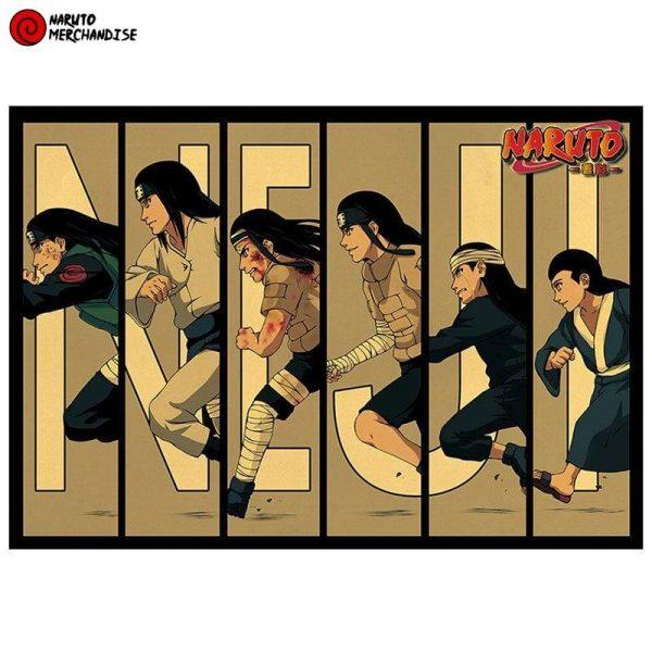 Naruto Poster Evolution of Neji